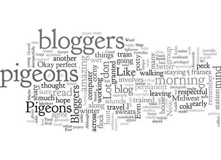 Bloggers Are A Lot Like Pigeons