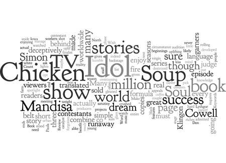 Book Review Chicken Soup For The American Idol Soul Illustration