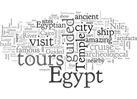 BGuided Tours of Wondrous Egypt 일러스트