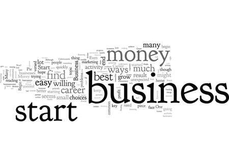 Business Start Up Money Stock Illustratie