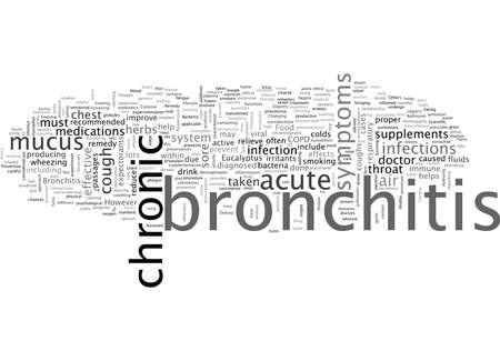 bronchitis remedy