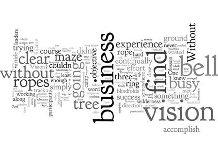 Business Success Without the Blindfold