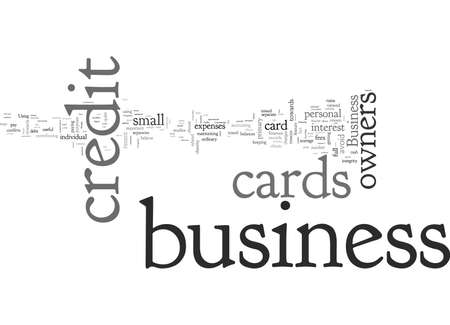 Business Owners Views of Business Credit Cards