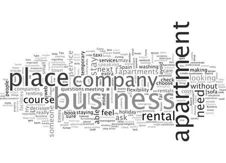 Business Apartment Rentals Spain
