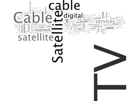 Télévision par câble et télévision par satellite, ce qui est mieux