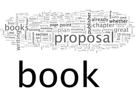 Book Proposals  What Publishers Want  イラスト・ベクター素材