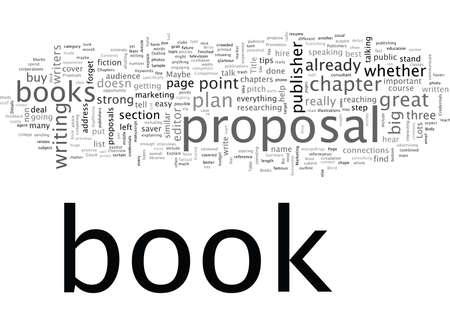 Propuestas de libros Lo que quieren los editores Ilustración de vector