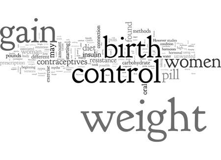 Birth Control and Weight Gain Truth or Myth
