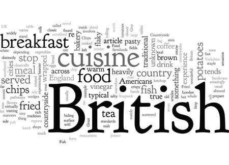 Comida británica en el campo