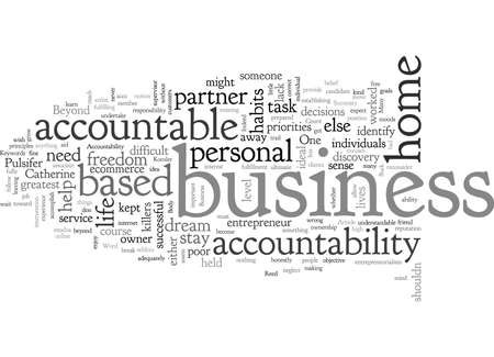 Business Accountability At Home