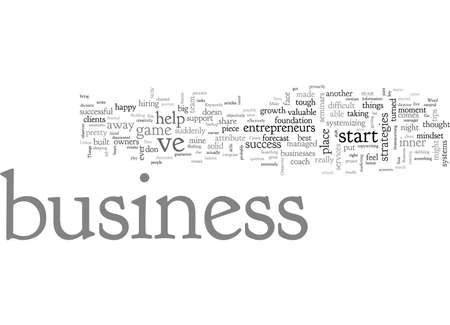 Business success strategies Things I Did Right in