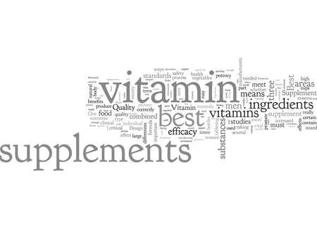 Best Vitamin Supplements Criteria A Best Vitamin Supplement Should Meet
