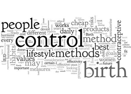 Birth Control And Your Lifestyle