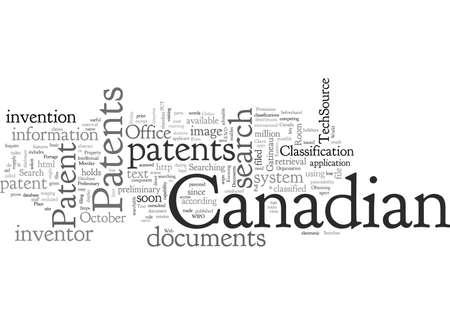 Canadian Patents Banco de Imagens - 132215510