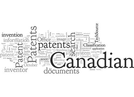 Canadian Patents Illustration