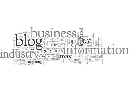 Blogs Better Than A Press Release