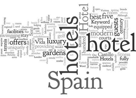 Best Hotels in Spain Stock fotó - 132062306