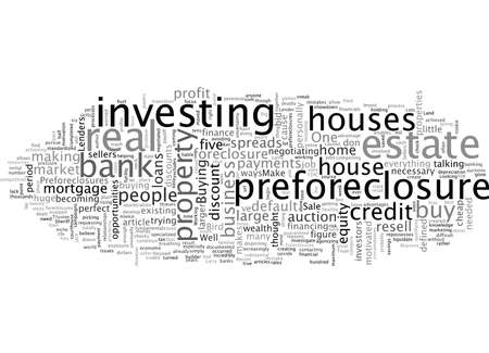 Big Reasons To Invest In Pre Foreclosures Stockfoto - 132215560