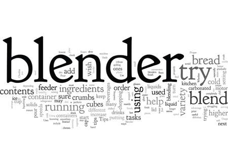 Blender Tips 일러스트