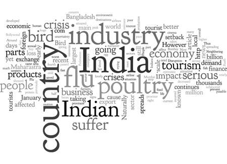Bird Flu And Its Possible Impact In Indian Economy 版權商用圖片 - 132215615