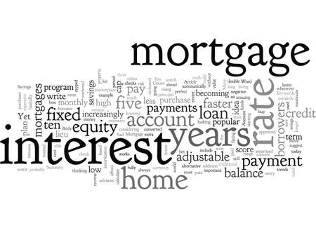 Can your Mortgage be your Savings Account Standard-Bild - 132215659