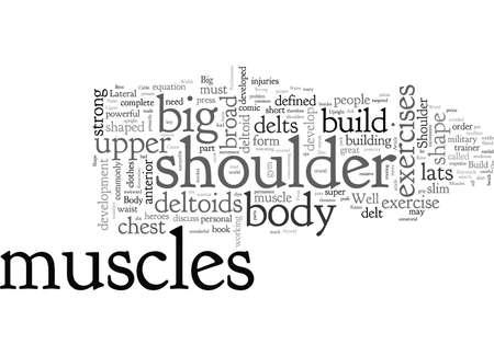 Build Big Strong Shoulder Muscles For V Shape Upper Body Build Big Deltoids