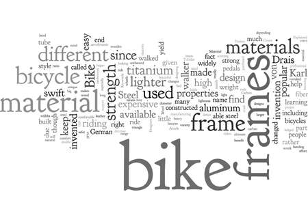 Bike Frames Explained