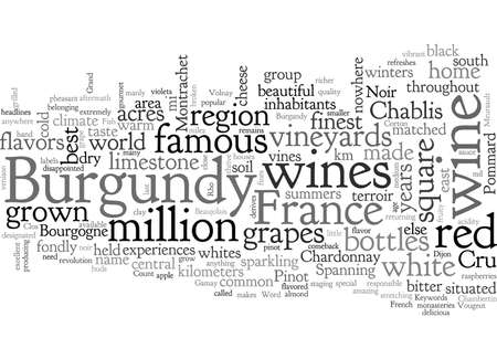 Burgandy France Famous For Its Wines