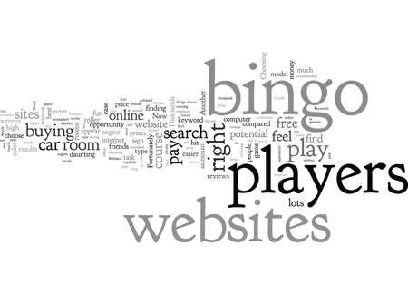 Bingo Websites Reklamní fotografie - 132062802