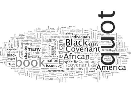 Book Review The Covenant with Black America
