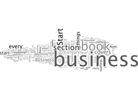 Book Review Start Your Own Business Illustration