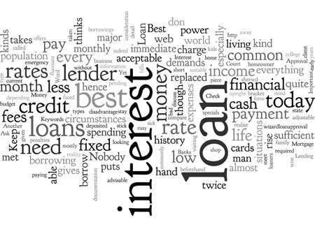 Best Loan Illustration