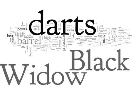 Black widow darts