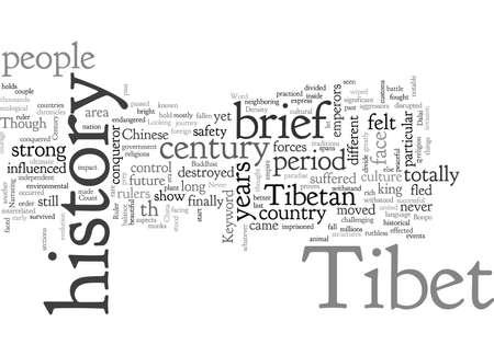 BRIEF HISTORY ON TIBET Ilustração