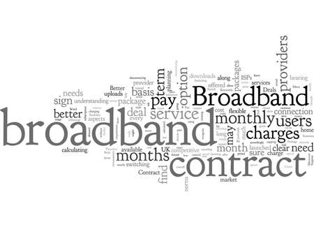 Broadband Deals Is Contract Broadband For You Ilustrace