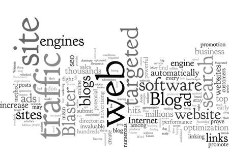 Blog Blaster Illustration