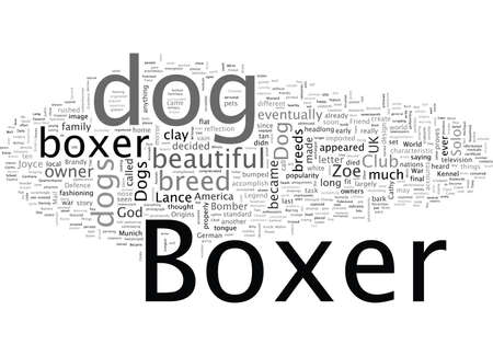 Boxer Dogs Ten Things You May Not Know About Them Illustration