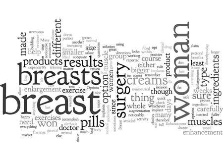 Optionen zur Brustvergrößerung und -vergrößerung