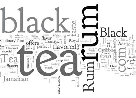 Black Rum Tea