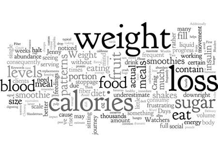 Blunders To Avoid on Your Weight Loss Journey Illustration