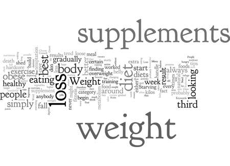 Best Weight Loss Supplements How To Find The Top Ones To Help You Lose The Weight You Need 일러스트