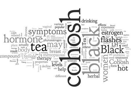 Black Cohosh Tea