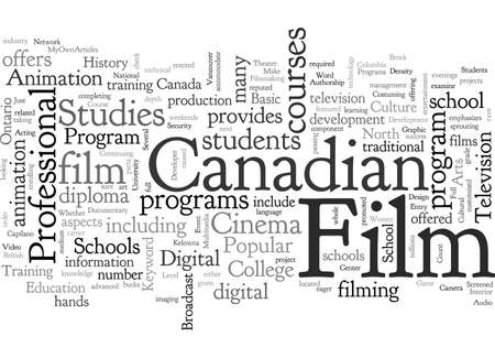 canadian film school