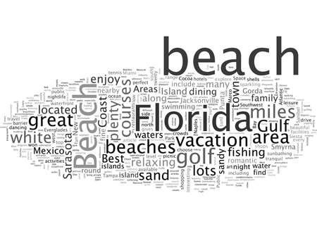 Best Florida Beaches Vetores