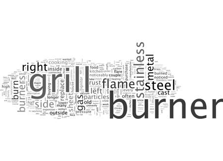 Burn Through in Stainless Steel Burners