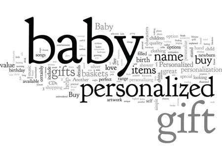 Buy Baby Gift Items That Are Personalized Banque d'images - 132216134