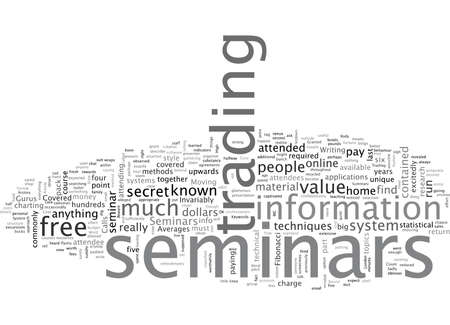 Beware Of High Cost Seminars