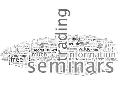 Beware Of High Cost Seminars