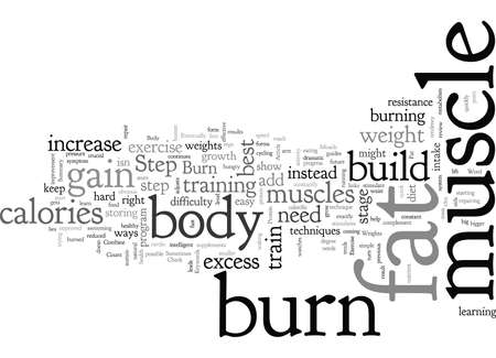Burn Fat and Gain Muscle