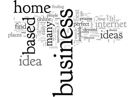 Best Home Based Business Ideas Where To Find Them Illustration